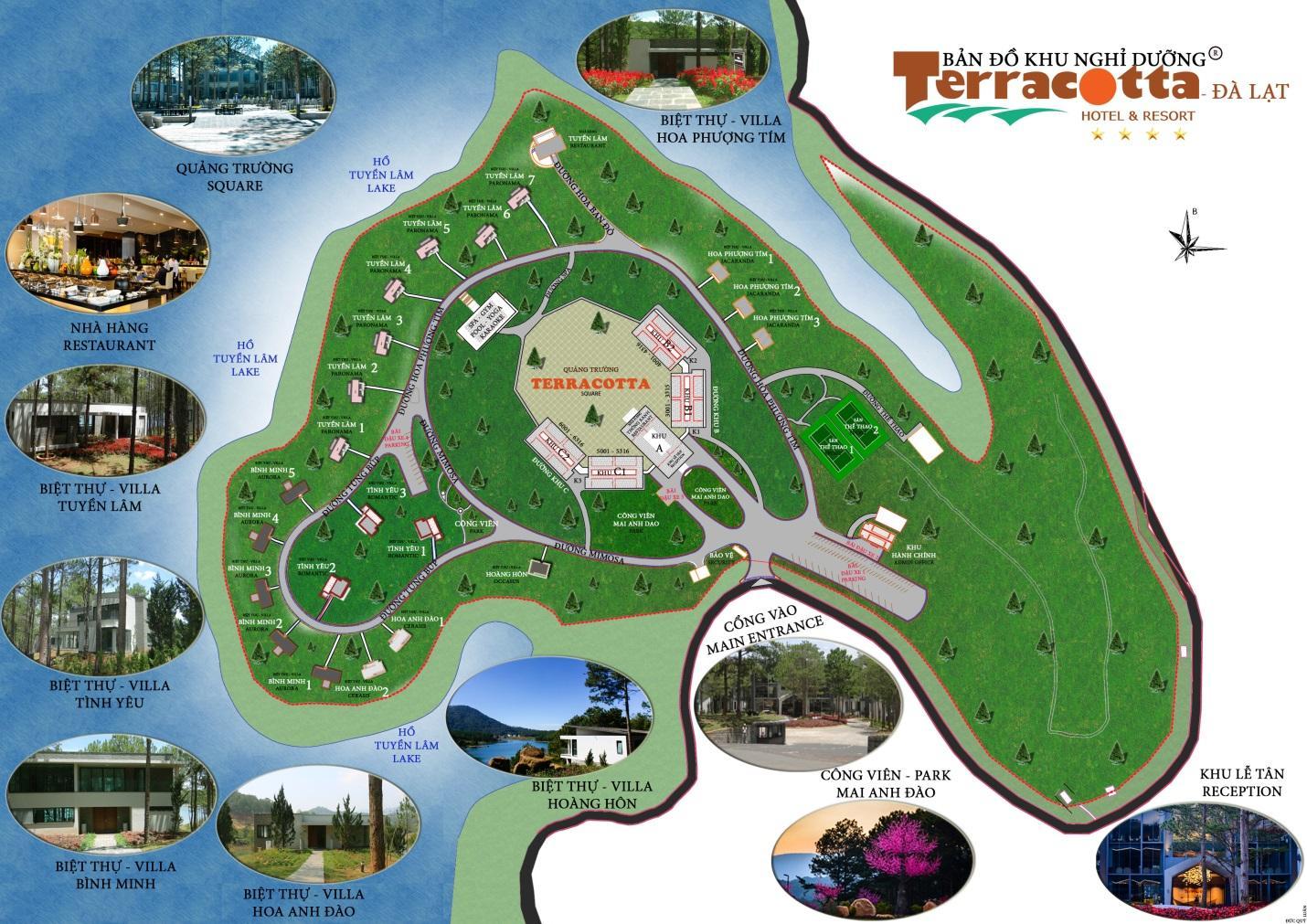 Terracotta Resort Đà Lạt – địa điểm tổ chức Teambuilding 2019